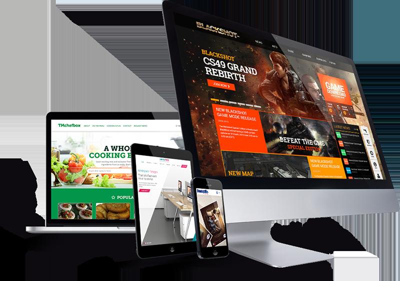Web Design PNG Images